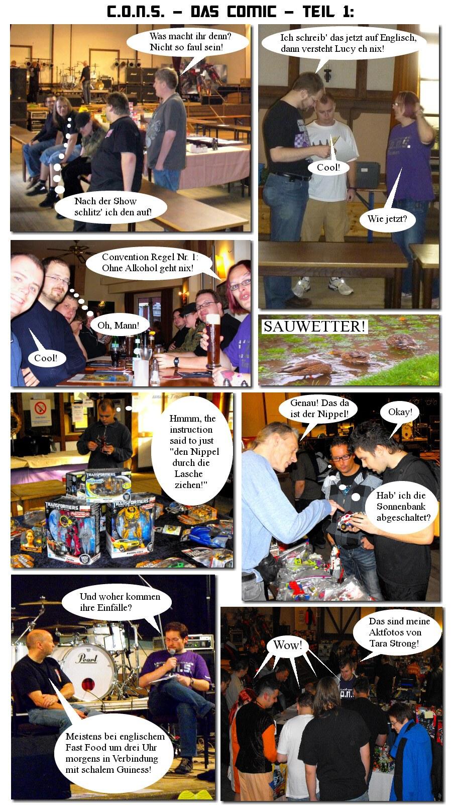 CONS Comic Teil 1