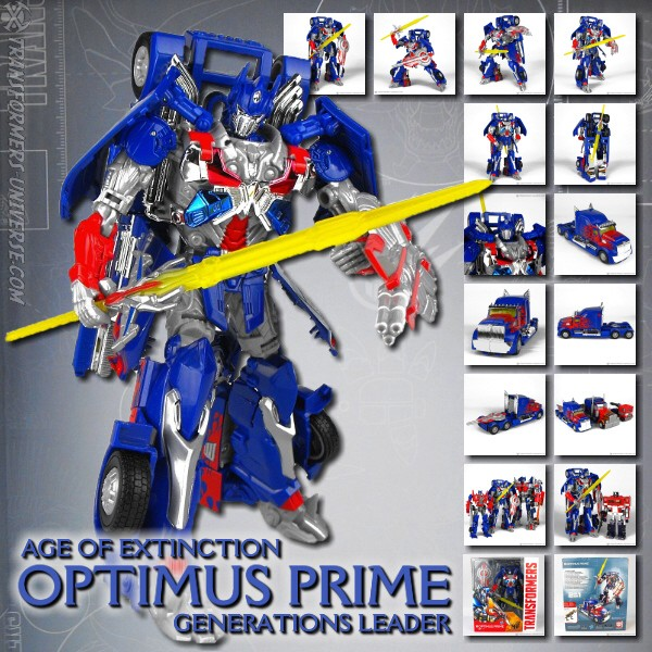 Age of Extinction Generations Collector Series Optimus Prime (2014)