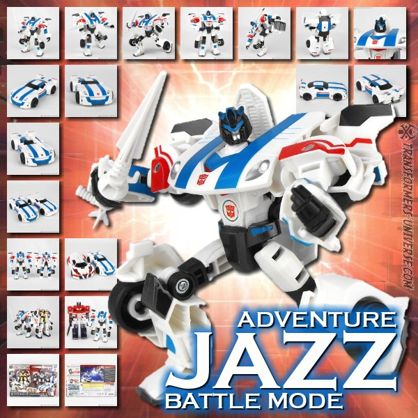 Adventure Jazz Battle Mode