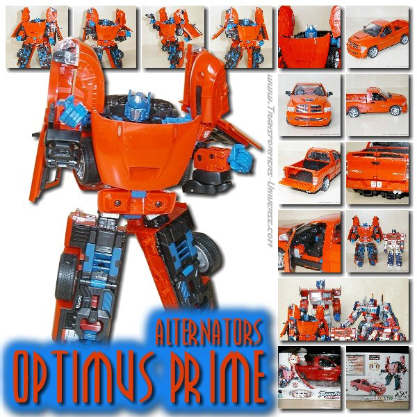 Alternators Optimus Prime