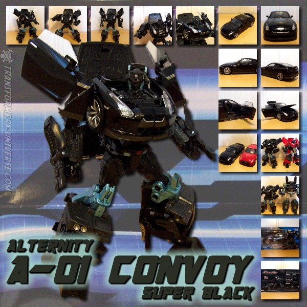 Alternity A-01 Convoy Super Black