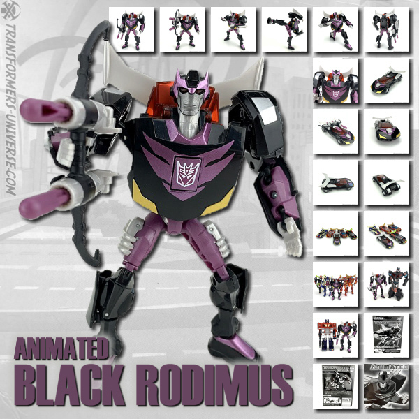 Animated Black Rodimus