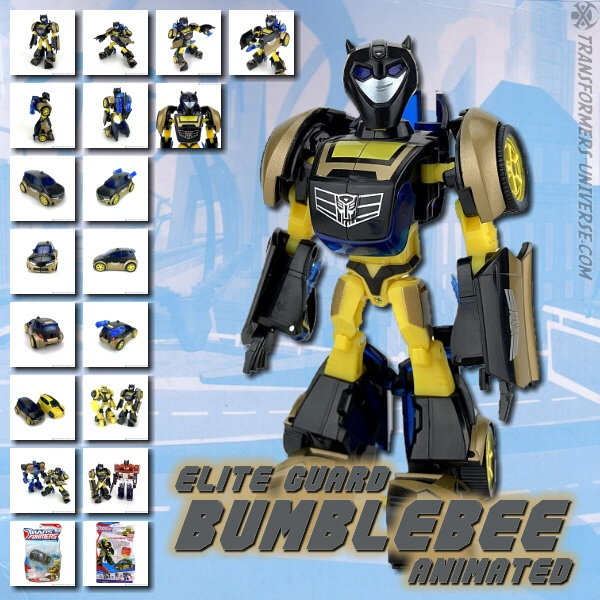 Animated Bumblebee Elite Guard