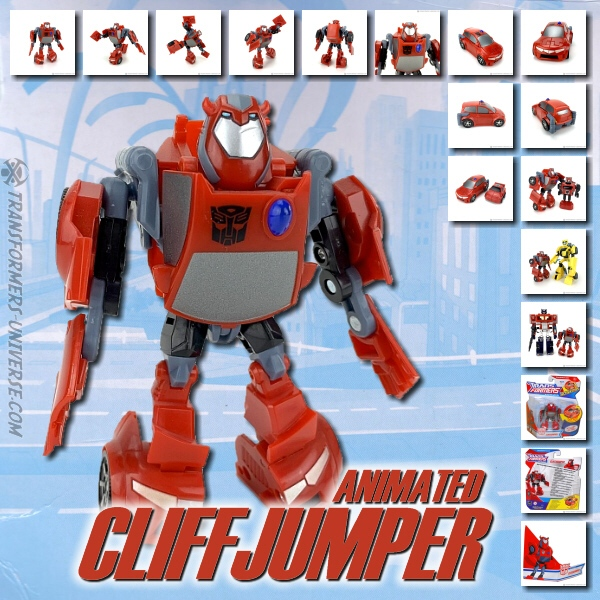 Animated Cliffjumper