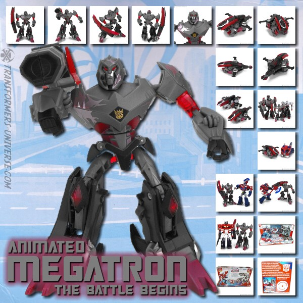 Animated Megatron Battle Begins