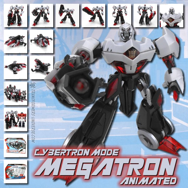 Animated Megatron Cybertron Mode