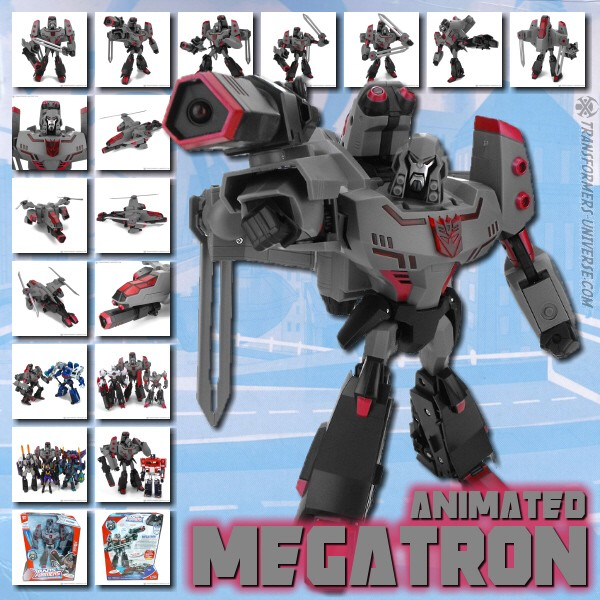 Animated Megatron
