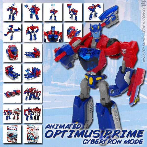 Animated Optimus Prime - Cybertron Mode