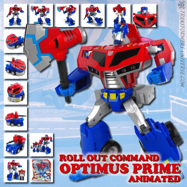Animated Roll Out Command Optimus Prime
