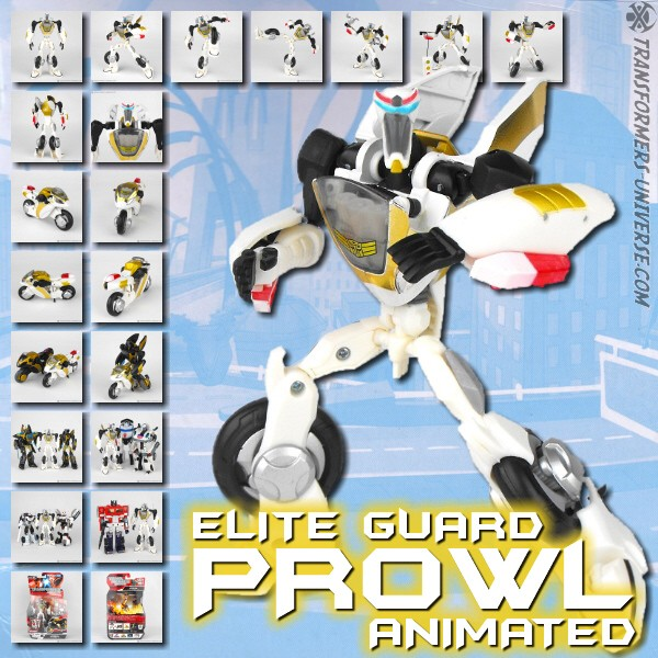 Animated Elite Guard Prowl