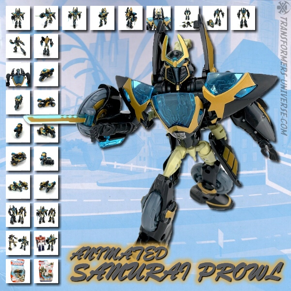 Animated Samurai Prowl