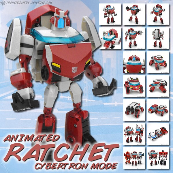 Animated Ratchet Cybertron Mode
