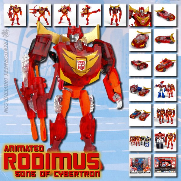 Animated Rodimus SoC