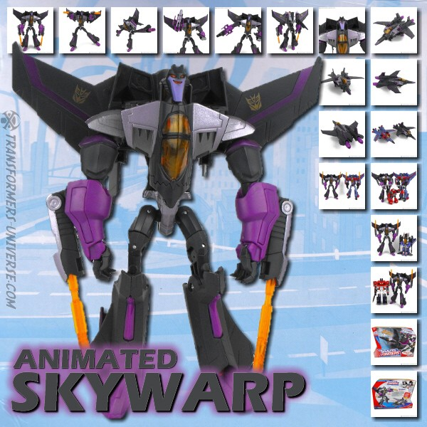 Animated  Skywarp (2009)