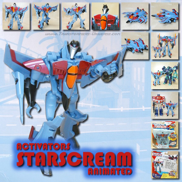 Animated Starscream Activator