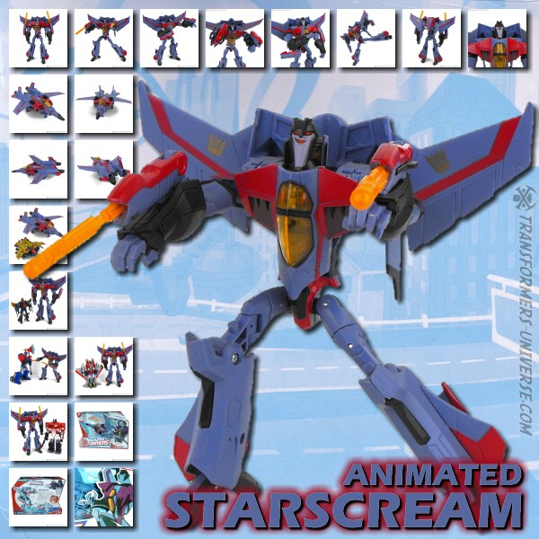 Animated Starscream