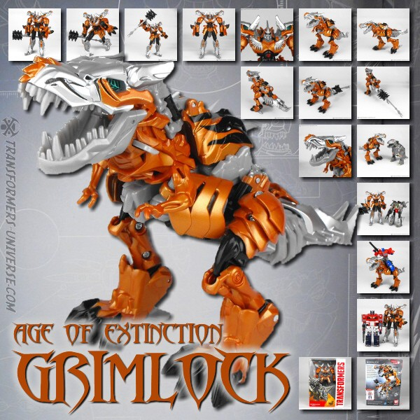 Age of Extinction Generations Collector Series Grimlock (2014)