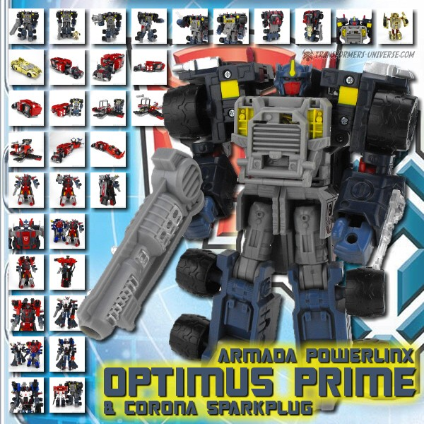 Armada Powerlinx Optimus Prime