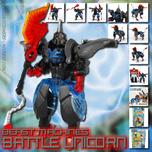 Beast Machines  Battle Unicorn (2001)