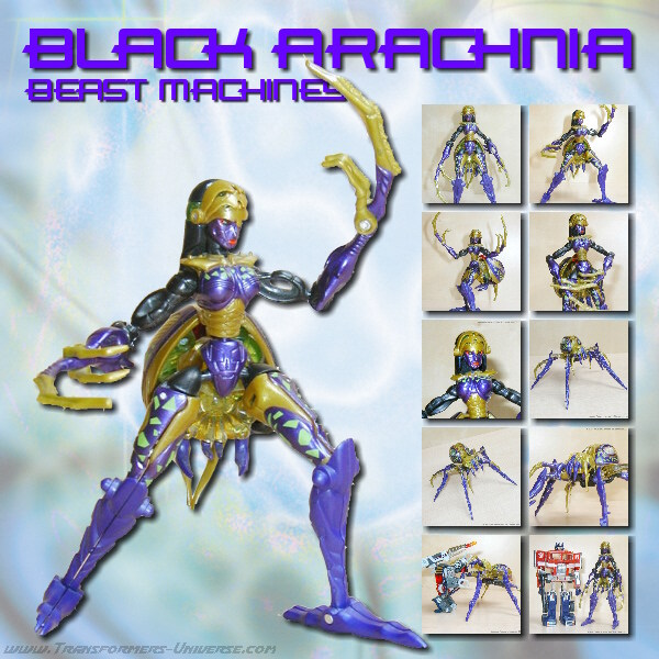 Beast Machines  Blackarachnia (2000)