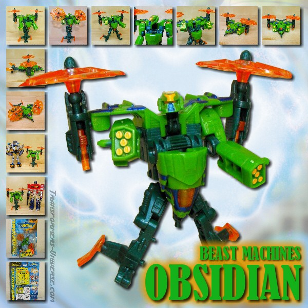 Beast Machines  Obsidian (2000)