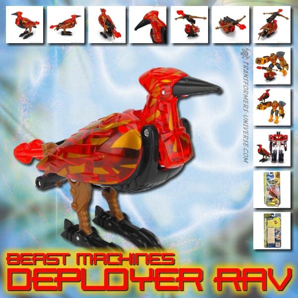 Beast Machines Rav