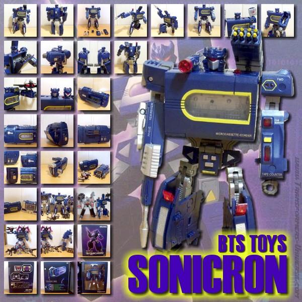 BTS Toys Sonicron