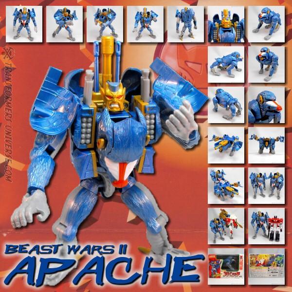 Beast Wars II Apache