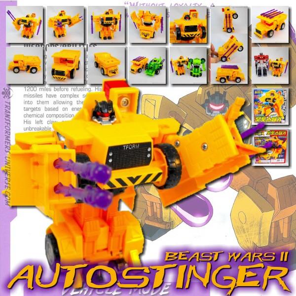Beast Wars II Autostinger