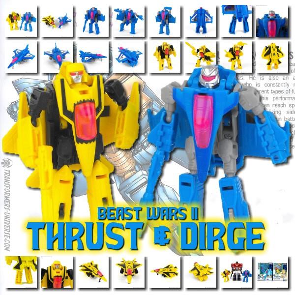 Beast Wars II Dirge & Thrust