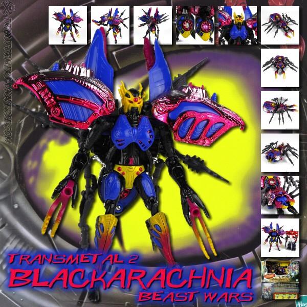 Beast Wars Transmetal 2 Black Arachnia