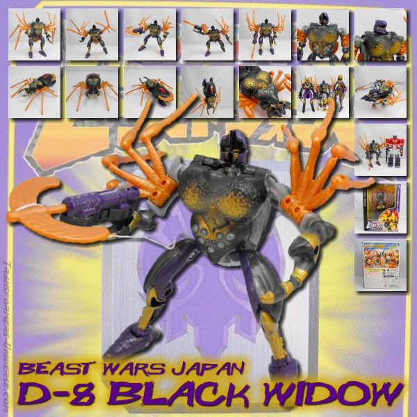 Beast Wars Japan  Black Widow (1997)