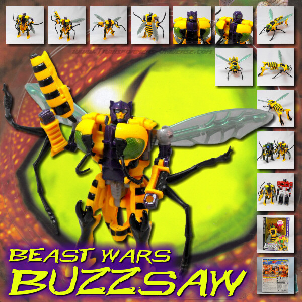 Beast Wars Buzz Saw