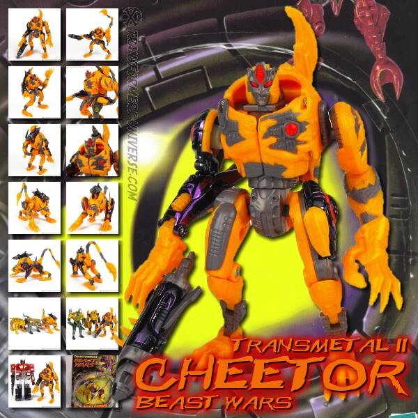 Beast Wars Transmetal 2 Cheetor