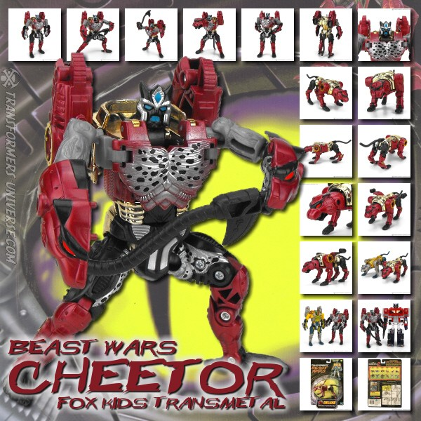 Beast Wars  Cheetor Fox Kids (1999)