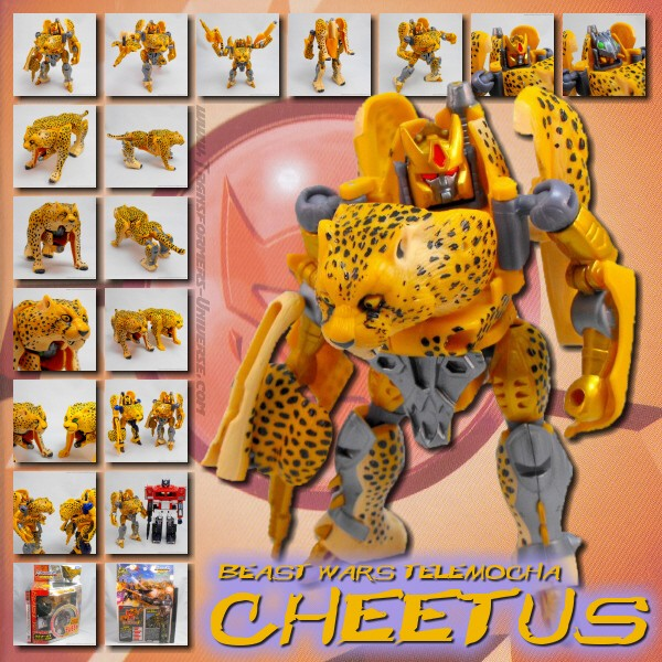 Beast Wars Japan Telemocha Cheetus (2007)