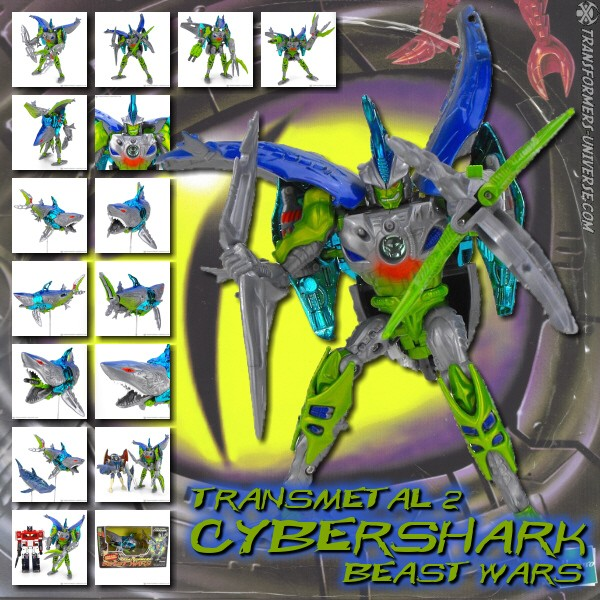Beast Wars Transmetal 2 Cybershark