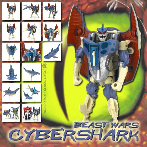 Beast Wars Cybershark