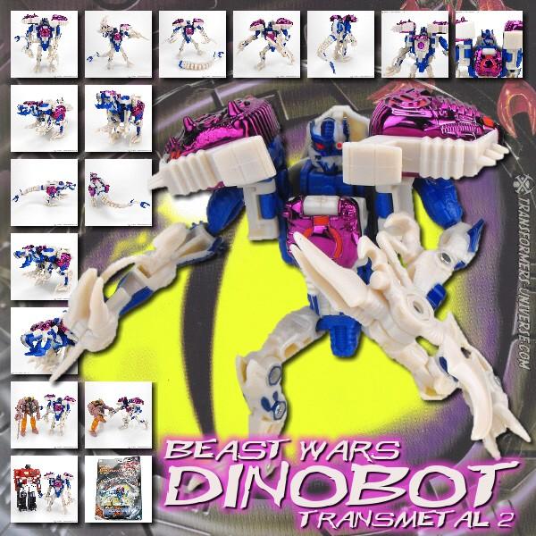 Beast Wars Dinobot Transmetal 2