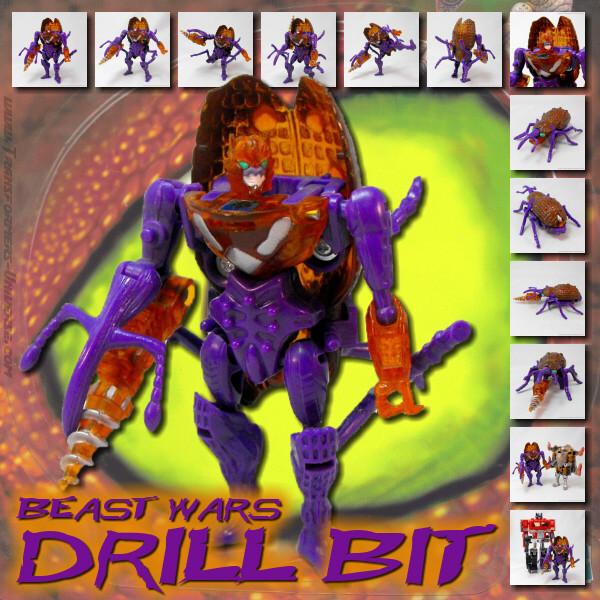 Beast Wars Drill Bit