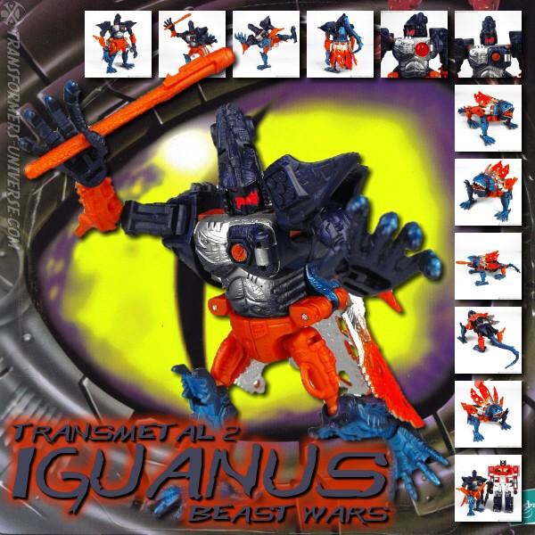 Beast Wars Iguanus TM2