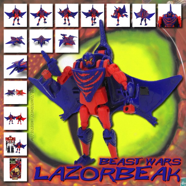 Beast Wars Lazorbeak