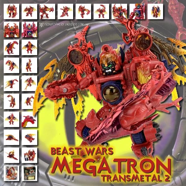 Beast Wars Transmetal 2 Megatron
