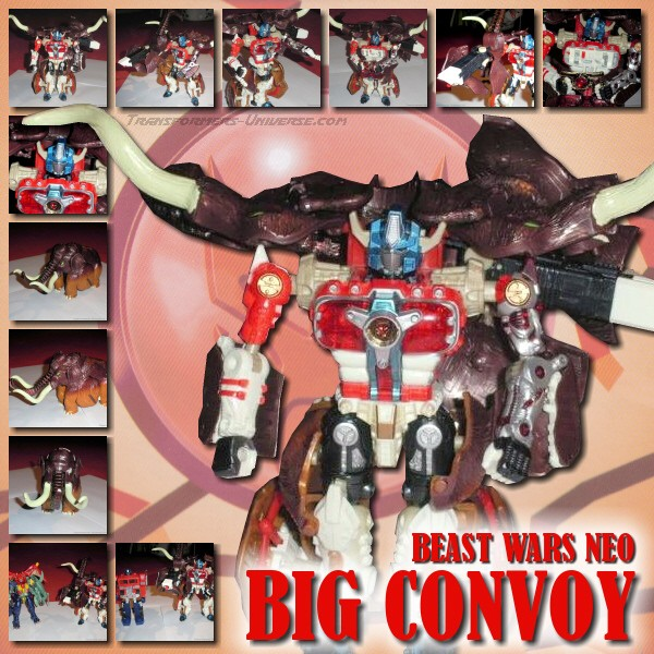 Beast Wars Neo  Big Convoy (1999)