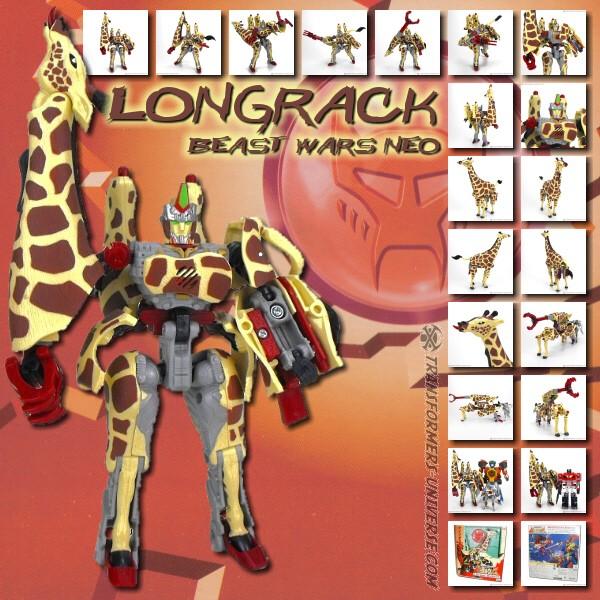 Beast Wars Neo Longrack