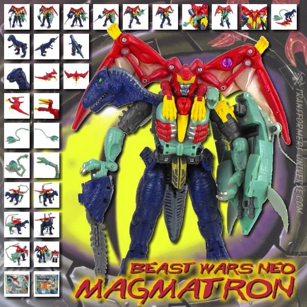 Beast Wars Neo Magmatron (D)
