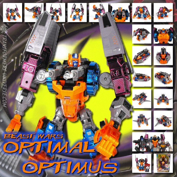 Beast Wars Optimal Optimus