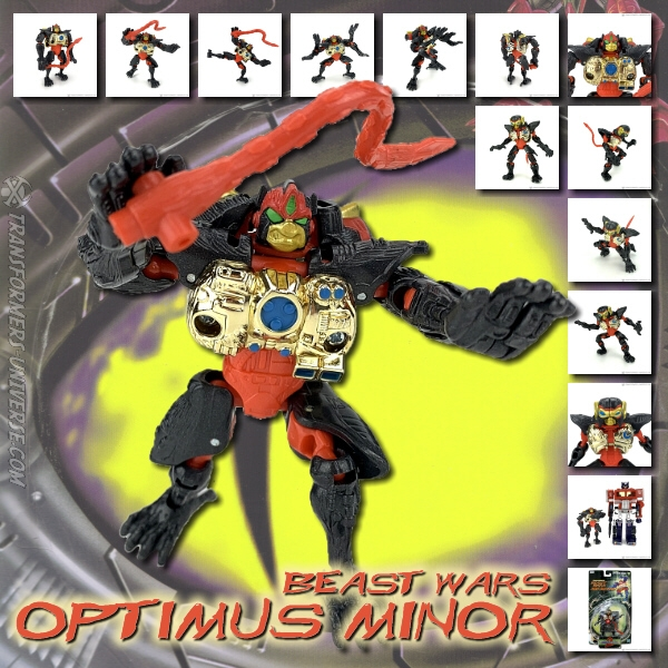 Beast Wars Optimus Minor