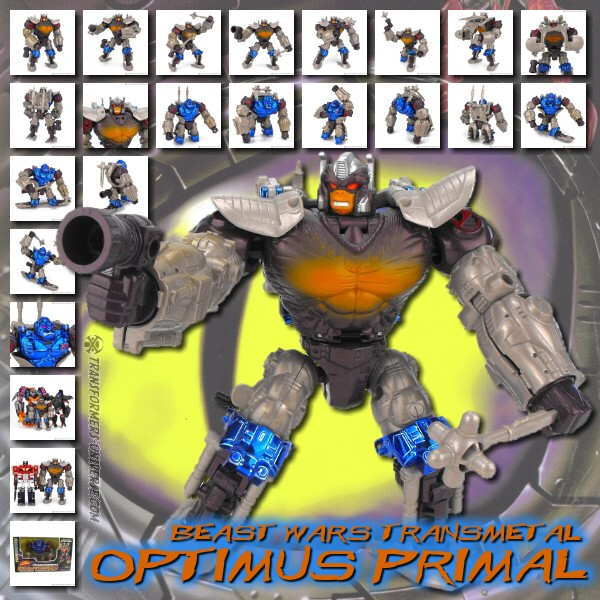 Beast Wars  Optimus Primal (1998)