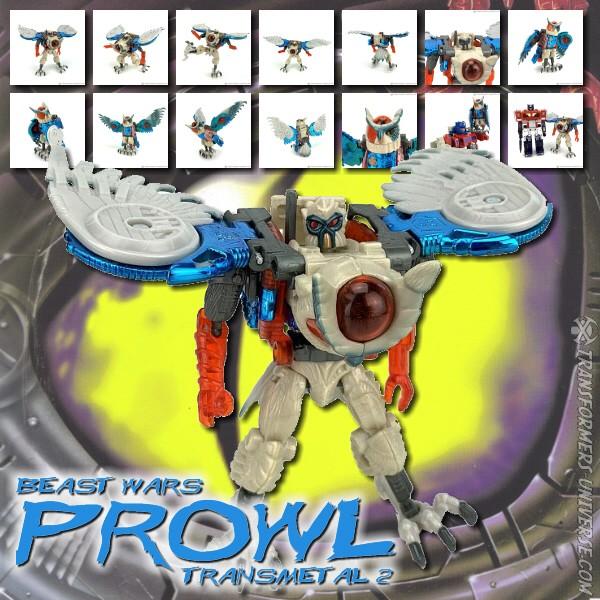 Beast Wars Prowl Transmetal II